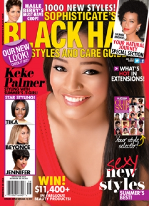 Meet Myriam featured in Sophisticate Black Hair July Edition
